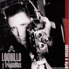 CDs de Música: LOQUILLO Y TROGLODITAS - ARTE Y ENSAYO CD SINGLE 1 TRACK PROMO 2004. Lote 150232622