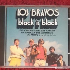 CDs de Música: LOS BRAVOS (BLACK IS BLACK) CD 1992. Lote 150232834