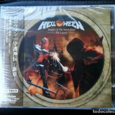 CDs de Música: HELLOWEEN - KEEPER OF THE SEVEN KEYS - THE LEGACY - JAPAN WITH OBI - 2CD NEW. Lote 150246070