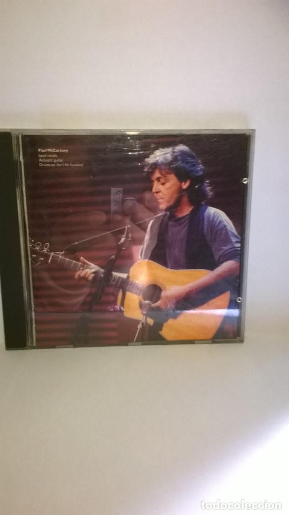 PAUL McCARTNEY UNPLUGGED (THE OFFICIAL BOOTLEG) UK