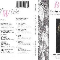 CDs de Música: BARRY WHITE - SATIN & SOUL. Lote 150260378