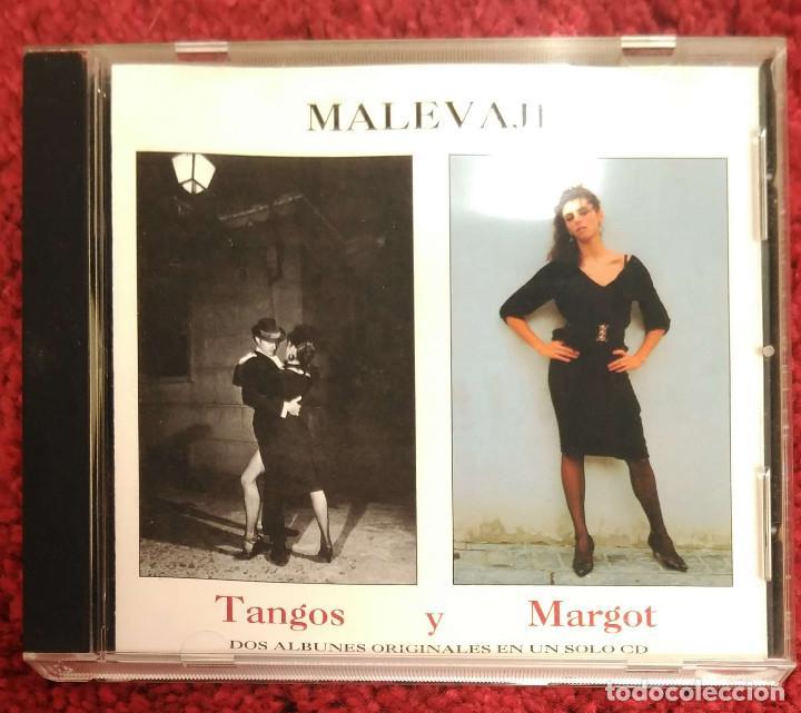 MALEVAJE (TANGOS Y MARGOT) CD 1994 (Música - CD's Otros Estilos)