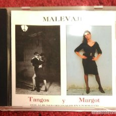 CDs de Música: MALEVAJE (TANGOS Y MARGOT) CD 1994. Lote 150262846