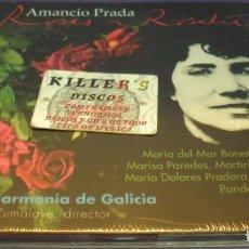 CDs de Música: AMANCIO PRADA - REAL FILHARMONÍA DE GALICIA / MAXIMINO ZUMALAVE - ROSAS A ROSALIA - CD PRECINTADO. Lote 150267034
