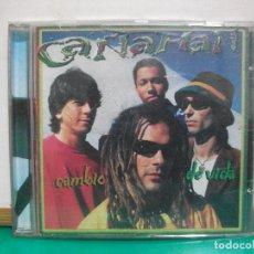 CDs de Música: CAÑAMAN CD ALBUM CAMBIO DE VIDA AÑO 2000 COMO NUEVO¡¡ PEPETO. Lote 150323066