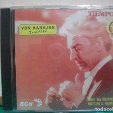 CDs de Música: CD ALBUM VON KARAJAN,TIEMPO,BCH, NÚMERO 6, BEETHOVEN Y MOZART PRECINTADO ¡¡ PEPETO. Lote 150323270