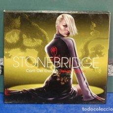 CDs de Música: LMV - STOBRIDGE. CAN'T GET ENOUGHT. DELUXE EDITION. 2 CD'S. Lote 150326438