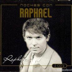 CDs de Música: DOBLE CD NOCHES CON RAPHAEL - LA TIERRA PROMETIDA // EL NIÑO QUE NO PUDO NACER NI REIR // . Lote 150332674