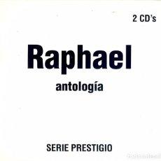 CDs de Música: DOBLE CD RAPHAEL ANTOLOGIA - AMOR MIO // EL HOMBRE // ELLOS DOS // LOS JOVENES ENAMORADOS // . Lote 150333418
