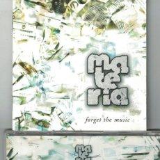 CDs de Música: MATERIA (HARDCORE) ?– FORGET THE MUSIC (CD, OIHUKA RECORDS 2004). Lote 150355934