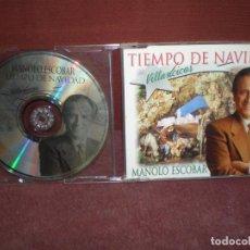 CDs de Música: CD MAXI SINGLE PROMO MANOLO ESCOBAR / TIEMPO DE NAVIDAD VILLANCICOS / 5 TRACK 1995. Lote 150366966