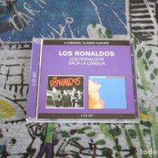CDs de Música: LOS RONALDOS - SACA LA LENGUA / LOS RONALDOS - 2 CD SET - EMI - 50999 0 84099 2 8. Lote 150441594