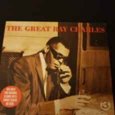 CDs de Música: 3CDS THE GREAT RAY CHARLES. DIGIPACK TRIPLE CD. Lote 150480816