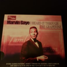 CDs de Música: CD MARVIN GAYE. I HEARD IT THROUGH THE GRAPEVINE. TAMLA MOTOWN. Lote 150481221