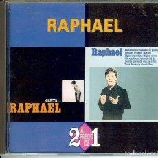 CDs de Música: CD RAPHAEL // CUANDO TU NO ESTAS // HABLEMOS DEL AMOR // YO SOY AQUEL // EL TORERO // LLORONA //. Lote 150487214