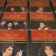 CDs de Música: NUESTROS CLÁSICOS CONTEMPORÁNEOS / AÑOS 1960 AL 1969 / ED - PLANETA / CDS DE LUJO.. Lote 150525718