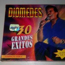 CDs de Música: DIOMEDES - 30 GRANDES EXITOS / 2 CD - MUY DIFICIL. Lote 150576758