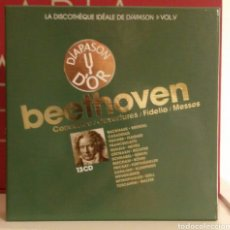 CDs de Musique: BEETHOVEN - CONCERTOS - OVERTURES - DIAPASON. Lote 150590410