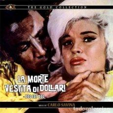 CDs de Música: LA MORTE VESTITA DI DOLLARI (DOG EAT DOG) / CARLO SAVINA CD BSO. Lote 150595798