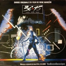CDs de Música: 36-15 CODE PERE NOEL / JEAN-FÉLIX LALANNE CD BSO. Lote 150597366