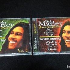 CDs de Música: BOB MARLEY ANIVERSARIO 2 CD´S VOL. 1 Y 2 BUEN ESTADO. Lote 150648362