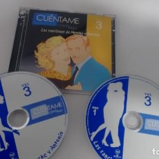 CDs de Música: CD-ALBUM (DOBLE) DE LA SERIE CUENTAME COMO PASO VOL. 3. Lote 150674710
