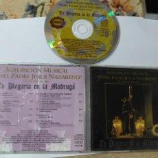 CDs de Música: CD SEMANA SANTA LA ALGABA SEVILLA CRISTO AGRUPACION MUSICAL JEUS NAZARENO LA PLEGARIA EN LA MADRUGA. Lote 150685358