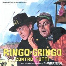 CDs de Música: RINGO E GRINGO CONTRO TUTTI / GIANNI FERRIO CD BSO. Lote 150696274