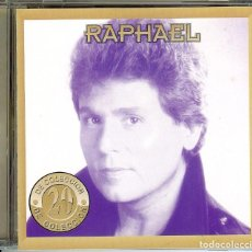 CDs de Música: RAPHAEL 20 DE COLECCION ( U.S.A. ) ESCANDALO /7 TARANTULA // MRAVILLOSO CORAZON , MARAVILLOSO //. Lote 150722658