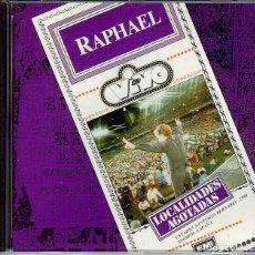 CDs de Música: RAPHAEL LOCALIDADES AGOTADAS ( MEXICO ) LA QUIERO A MORIR // COMO YO TE AMO // LA NOCHE //. Lote 150723034