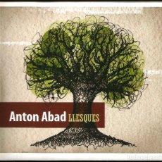 CDs de Música: ANTON ABAD - LLESQUES (CD) 2008 - CANÇÓ CATALANA. Lote 150763662