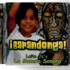 CDs de Música: LAITO JR'S - ¡SARANDONGA! LA SONORA SONORA. CD. CUBA. SON. LATINO. AFRO-CUBANO.. Lote 150765658