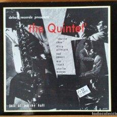 CDs de Musique: THE QUINTET LIVE AT MASSEY HALL.CHARLIE PARKER, D.GILLESPIE, B.POWELL, M.ROACH & CH.MINGUS. Lote 148311330