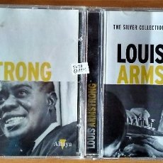 CDs de Música: LOUIS ARMSTRONG - SATCH PLAYS FATS & THE SILVER COLLECTION (CDS). Lote 148273374