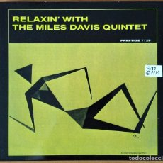 CDs de Música: MILES DAVIS - RELAXIN' WITH THE MILES DAVIS QUINTET (CD DIGIPACK). Lote 148281350