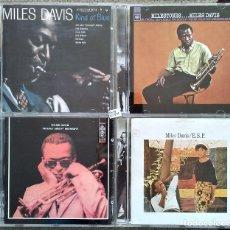 CDs de Música: MILES DAVIS - LOTE DE 4 CDS. Lote 148283262