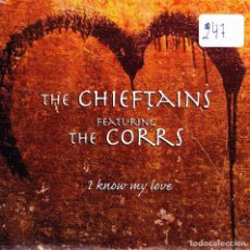 CDs de Música: THE CHIEFTAINS FEATURING THE CORRS - IT KNOW MY LOVE CD SINGLE 2 TRACKS 1999. Lote 150787722