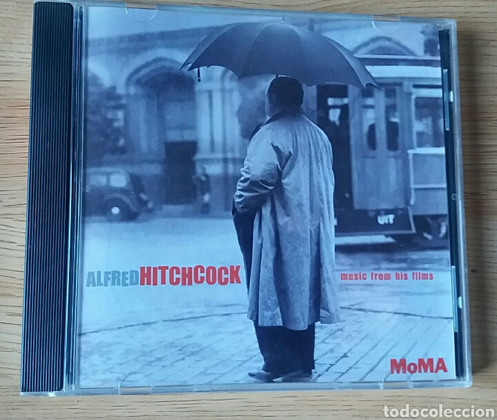 ALFRED HITCHCOCK.MUSIC FROM HIS FILMS. RAREZA EDITADA POR EL MOMA, 1999. (Música - CD's Bandas Sonoras)