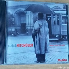 CDs de Música: ALFRED HITCHCOCK.MUSIC FROM HIS FILMS. RAREZA EDITADA POR EL MOMA, 1999.. Lote 150790009
