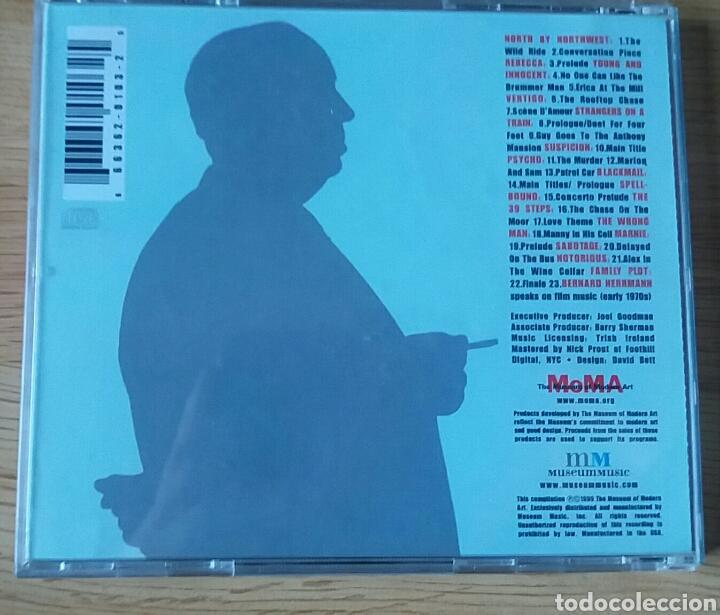 CDs de Música: Alfred Hitchcock.Music from his films. Rareza editada por el Moma, 1999. - Foto 2 - 150790009