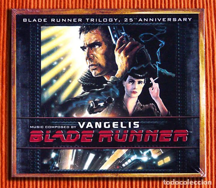 VANGELIS - BLADE RUNNER TRILOGY EDICIÓN ESPECIAL DIGIPACK 3CD PRECINTADO (Música - CD's Bandas Sonoras)