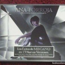 CDs de Música: ANA TORROJA (ME CUESTA TANTO OLVIDARTE - LOS EXITOS DE MECANO) CD 2006. Lote 150842858