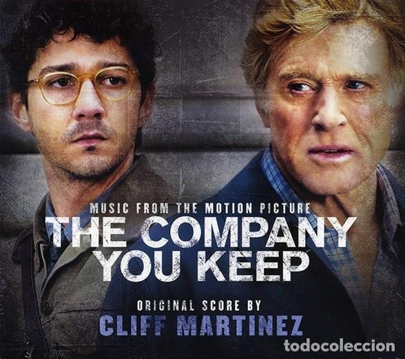 THE COMPANY YOU KEEP / CLIFF MARTINEZ CD BSO (Música - CD's Bandas Sonoras)