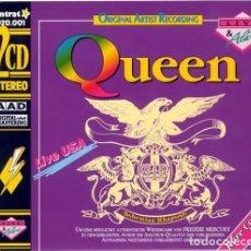 CDs de Música: QUEEN - LIVE USA (BOHEMIAN RHAPSODY) - 2 CDS. Lote 150852734