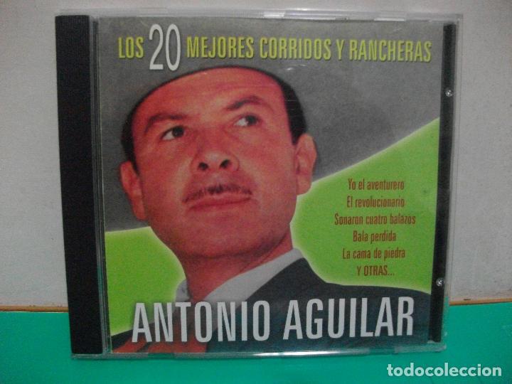 ANTONIO AGUILAR LOS 20 MEJORES CORRIDOS Y RANCHERS CD ALBUM 2003 NUEVO¡¡ PEPETO (Música - CD's Latina)