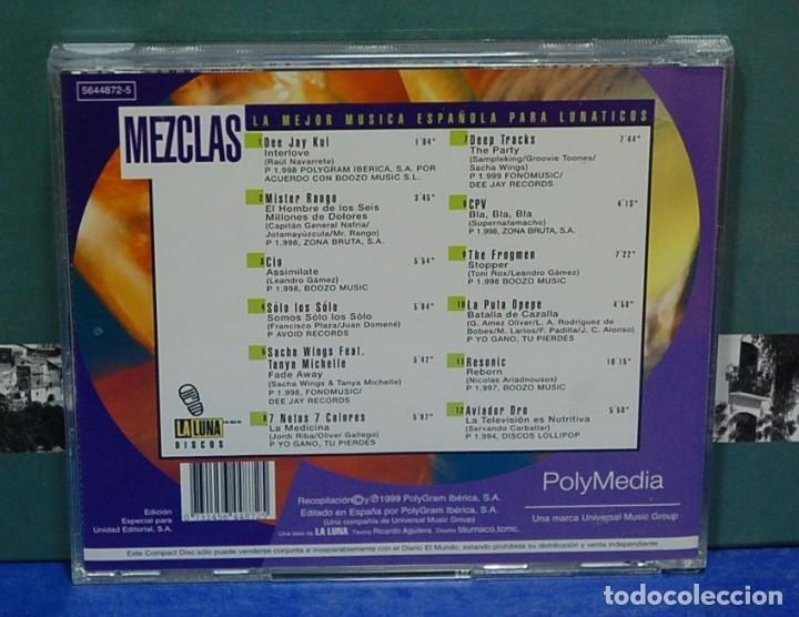 CDs de Música: LMV - La mejor música española para lunáticos. Música de baile. CD - Foto 2 - 150928006