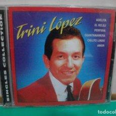 CDs de Música: TRINI LOPEZ SINGLES COLLECTION CD ALBUM 2001 DIGITALIZADO REMASTERIZADO NUEVO¡¡ PEPETO. Lote 150945642