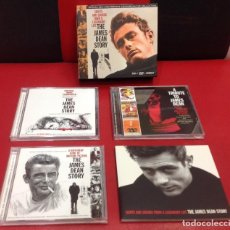 CDs de Música: SIGHTS AND SOUNDS FROM A LEGENDERAY LIFE THE JAMES DEAN STORY - 2CD + DVD + LIBRETO. Lote 150946902