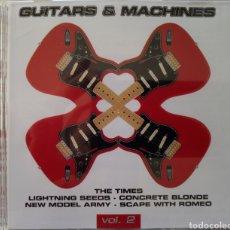 CDs de Música: GUITARS & MACHINES VOL. 2 DOBLE CD. Lote 150977182