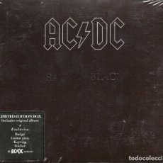 CDs de Música: AC/DC - BACK IN BLACK - CD BOX SET LIMITED EDITION - EU 2009 - COLUMBIA - 88697399392. Lote 151010218